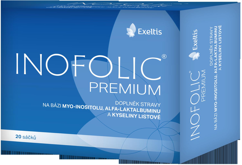 Inofolic obsahuje kombinaci myo-inositolu a kyseliny listové, která pomáhá při problémech s PCOS, snížení hladin androgenů a projevech hirsutismu