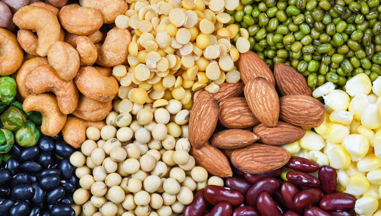 Myo-inositol se nachází v luštěninách, obilí, ořeších a semínkách